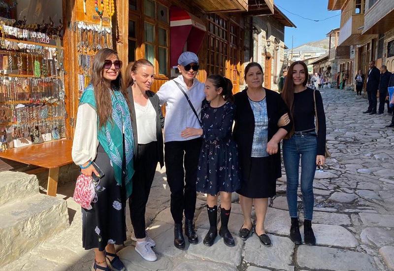 Первый вице-президент Мехрибан Алиева: Древний Лагич - город мастеров, умельцев, талантливых гостеприимных, прекрасных людей!