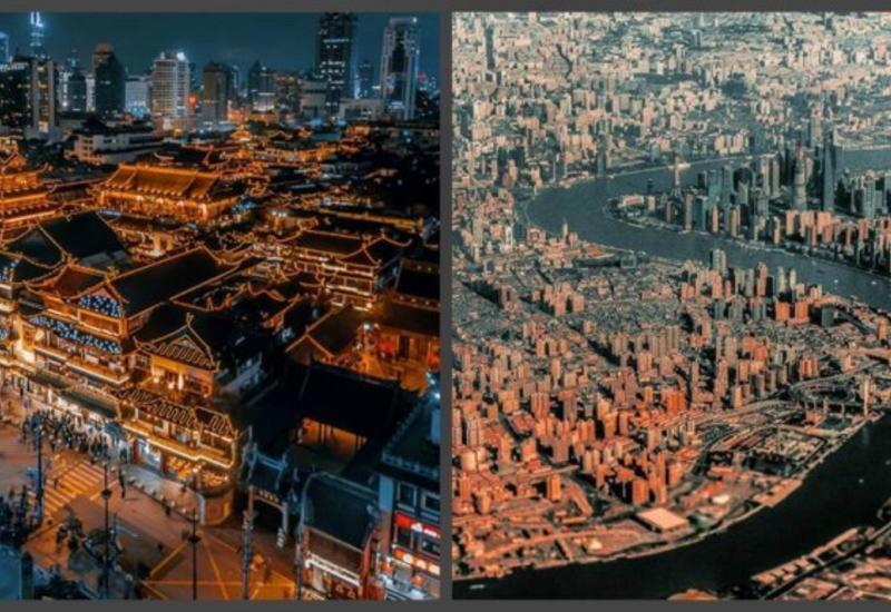 Небоскребы и пагоды: 15 невероятных фотографий вечернего Шанхая