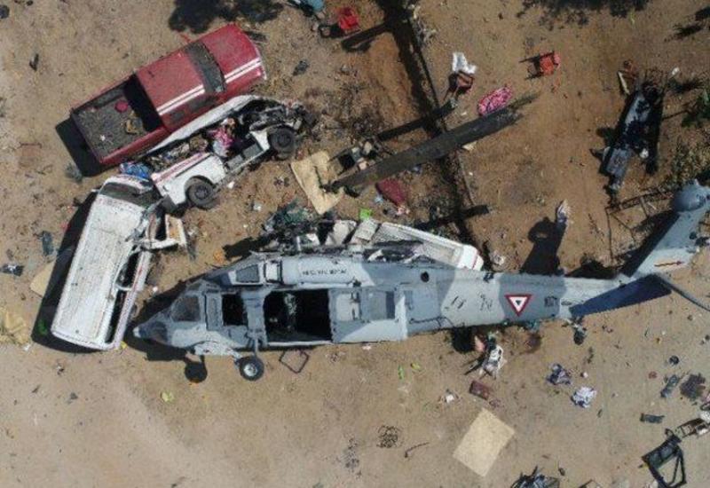 В Мексике разбился вертолет ВВС