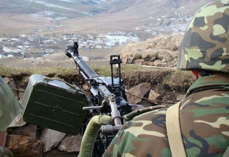 ВС Армении продолжают обстреливать азербайджанские позиции