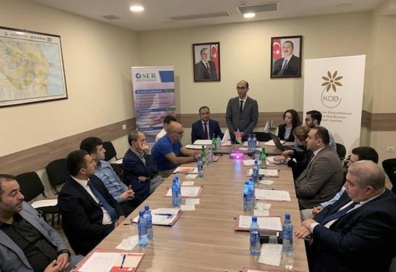 Агентство по развитию МСБ Азербайджана поощряет бизнес-сотрудничество между предпринимателями