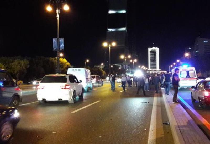 В Баку столкнулись 2 автомобиля, есть погибший