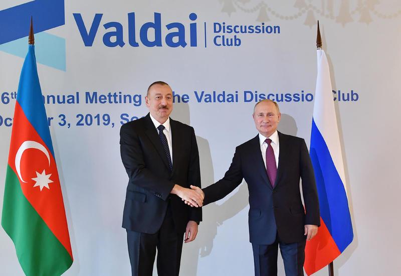 Доверительные отношения Ильхама Алиева и Владимира Путина - это основа стратегического партнёрства Азербайджана и РФ