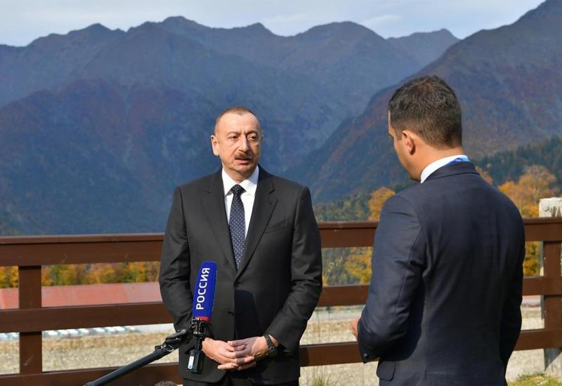 Президент Ильхам Алиев: Отношения между Азербайджаном и Россией носят характер стратегического партнерства и проверены временем