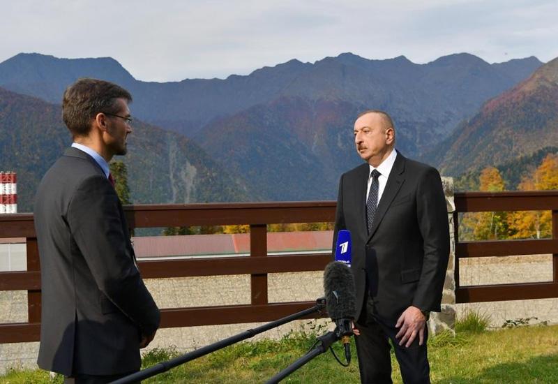 Президент Ильхам Алиев: Приоритет международного права должен быть главным фактором мироустройства