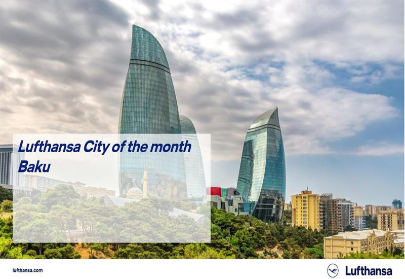Международная авиакомпания выбрала Баку Городом месяца