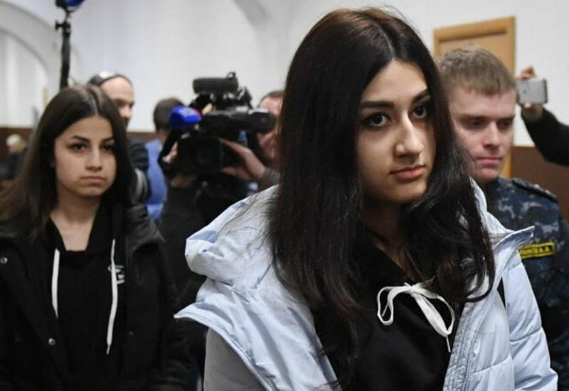 Сестры Хачатурян показали, как убили своего отца