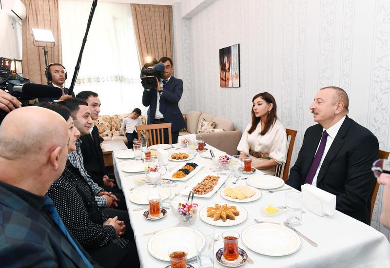 Президент Ильхам Алиев: В нашем обществе не должно быть неравенства, расслоения, бедности