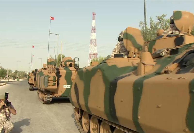 Турция приступила к новой антитеррористической операции на севере Сирии