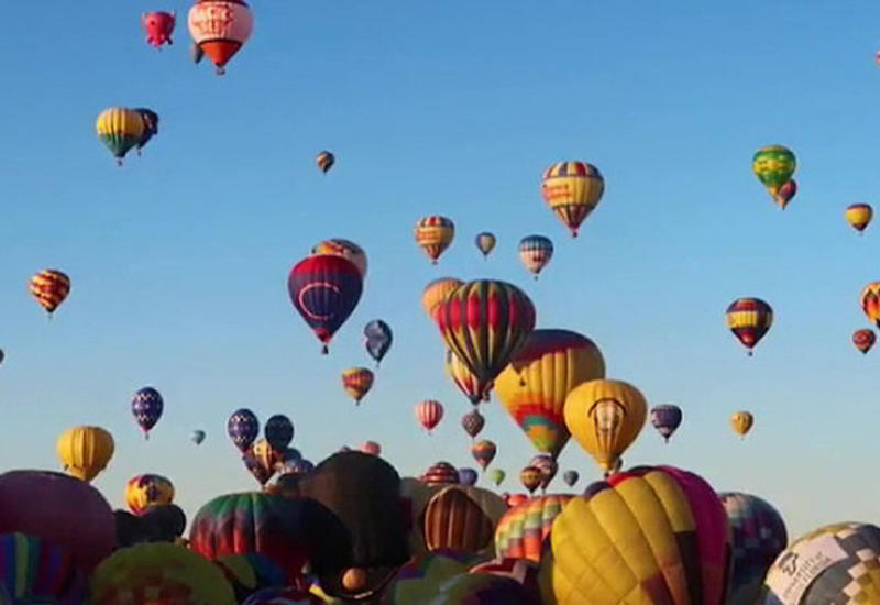 Жесткое приземление воздушного шара в США, есть пострадавшие