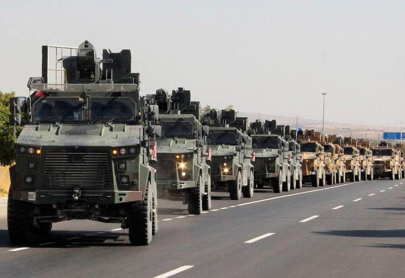 """Турция начала в Сирии военную операцию """"Источник мира"""""""