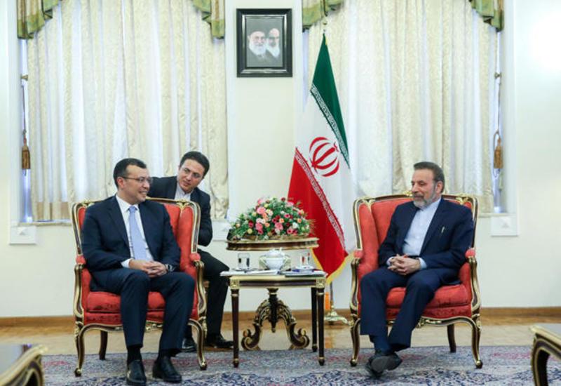 Сахиль Бабаев на переговорах в Тегеране
