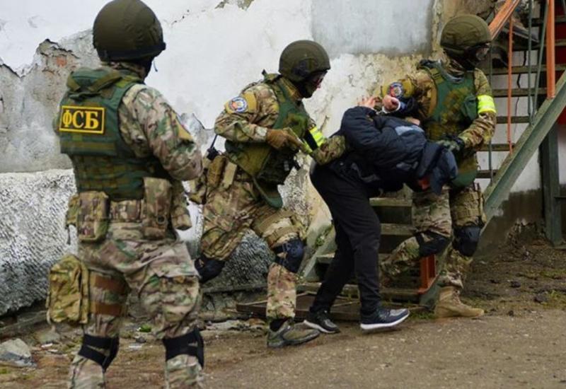 """ФСБ показала, как задерживали """"спонсоров"""" """"ИГ"""""""