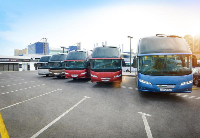 В этом году в Азербайджане автобусами перевезено свыше полумиллиона пассажиров
