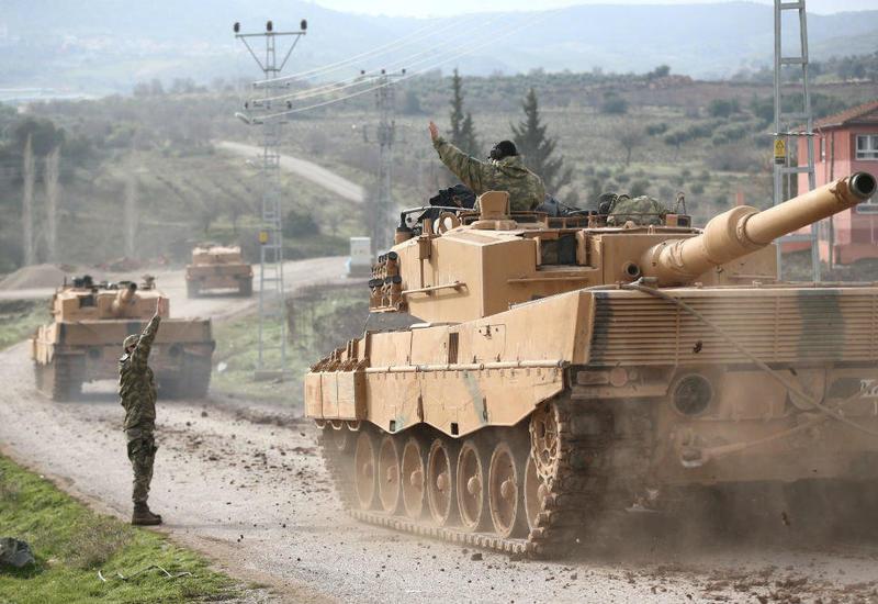 Сирийский район Телль-эль-Абьяд частично перешел под контроль ВС Турции