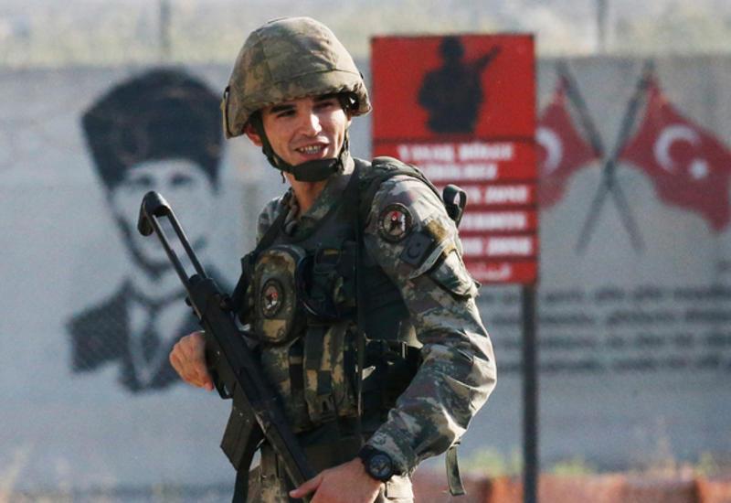 Турецкая армия взяла под контроль семь населенных пунктов в Сирии