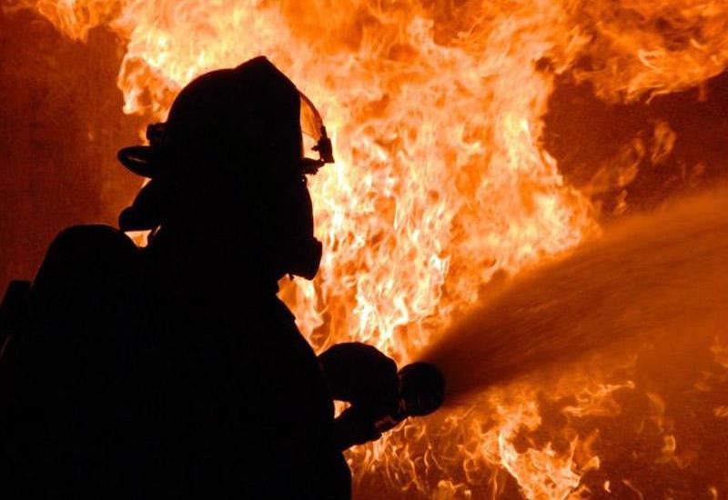 Сильный пожар на китайской фабрике, есть жертвы