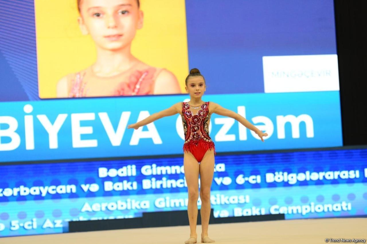 Стартовало 26-е первенство Азербайджана и Баку по художественной гимнастике