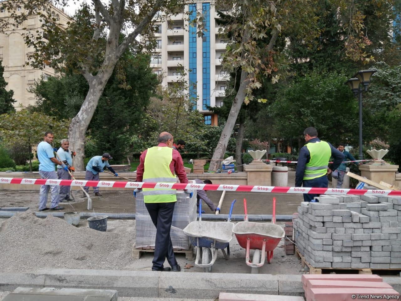 В Баку создаются велосипедные дорожки