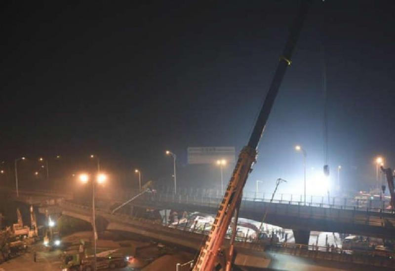 В Китае обрушился мост, есть погибшие
