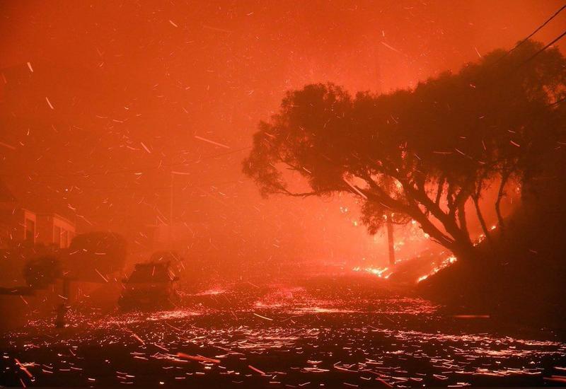 В Австралии бушуют лесные пожары, есть погибшие