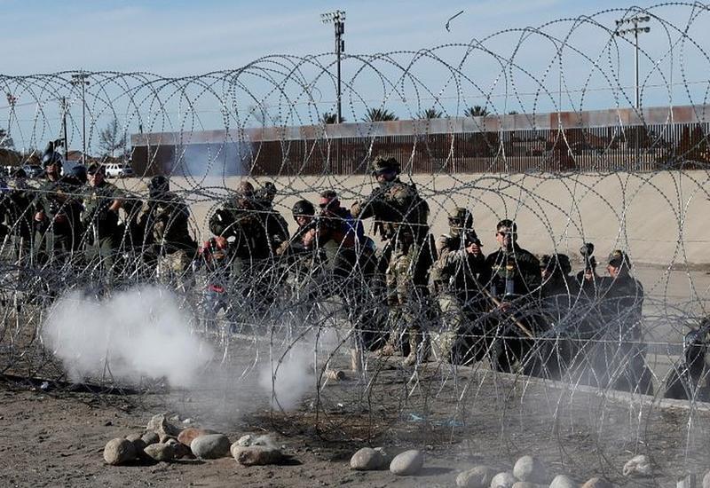 Переход на границе Мексики и США вновь открылся после акции протеста мигрантов