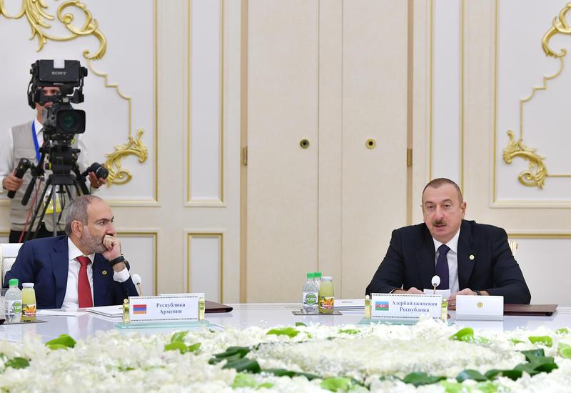 Учись, студент Пашинян, у Президента Ильхама Алиева