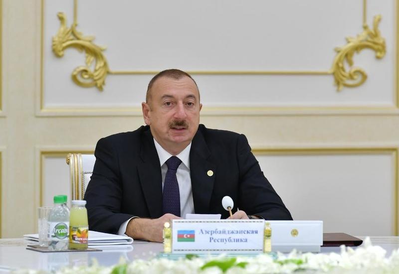 Президент Ильхам Алиев: На пространстве СНГ нет места героизации фашизма
