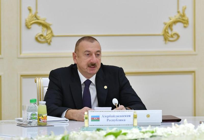 Президент Ильхам Алиев: Азербайджан внес достойный вклад в нашу общую Победу над фашизмом