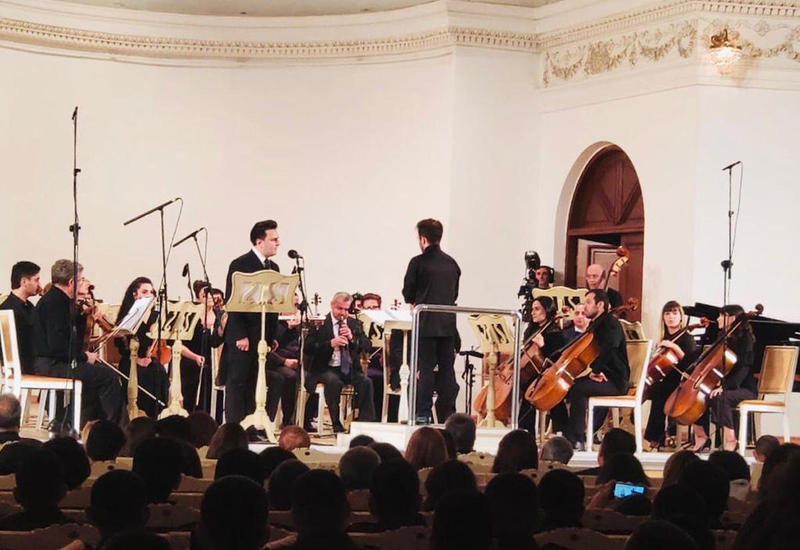 В Филармонии азербайджанские народные песни представили в новой аранжировке