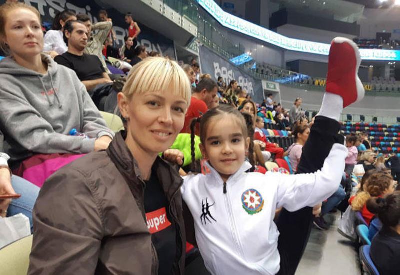 Всегда с детьми прихожу на Национальную арену гимнастики поддержать спортсменов – зрительница