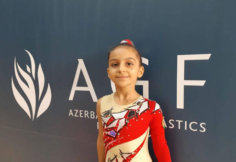 Люблю выполнять сложные элементы – юная азербайджанская гимнастка