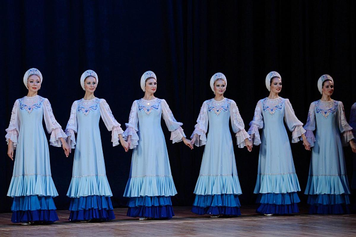 В Баку прошел концерт хореографического ансамбля «Берёзка»