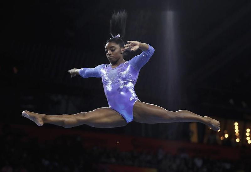 Американка Байлз побила рекорд по количеству наград ЧМ по спортивной гимнастике