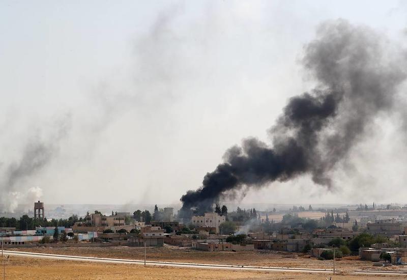 Турецкие войска полностью завладели городом Телль-Абъяд на севере Сирии