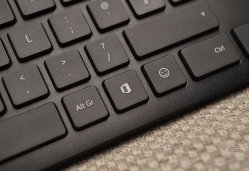 Microsoft выпустила клавиатуру с двумя новыми клавишами