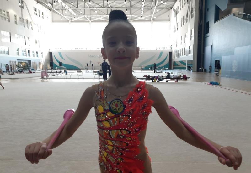 Азербайджанская гимнастка: Соревнования – отличная возможность проверить свои силы