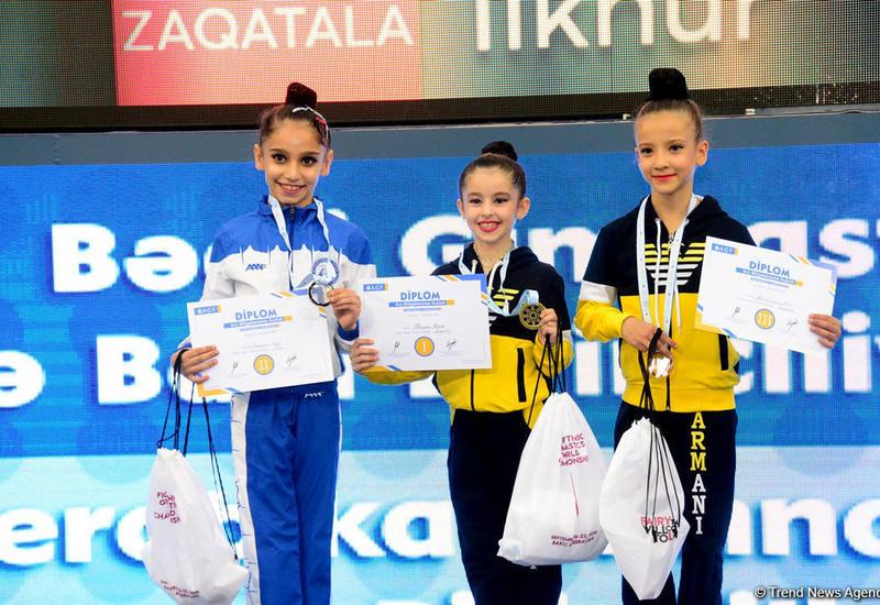 В Баку прошла церемония награждения призеров Кубка регионов по художественной гимнастике