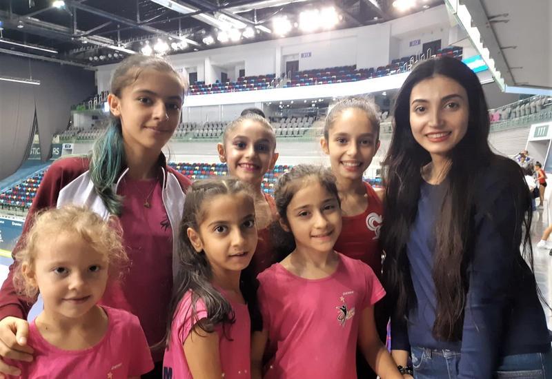 Желаю азербайджанским гимнасткам высоких спортивных достижений – зрительница