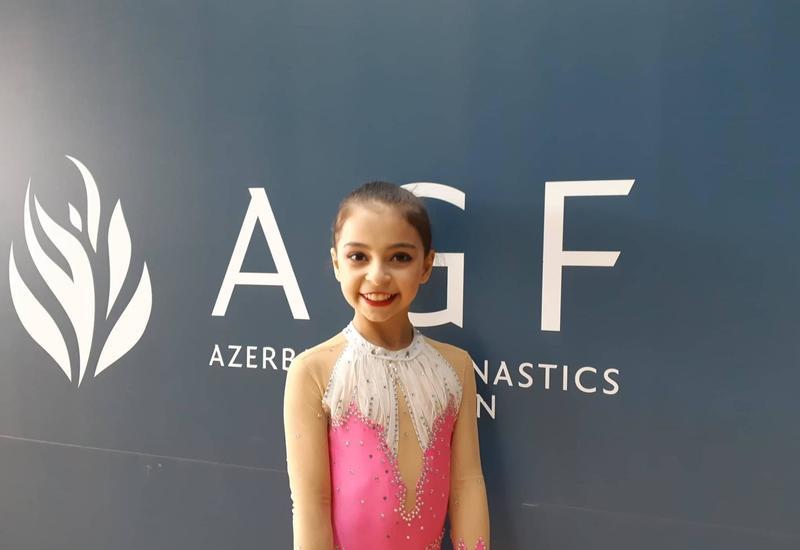 На ковер на Национальной арене гимнастики выхожу с чувством счастья – азербайджанская гимнастка