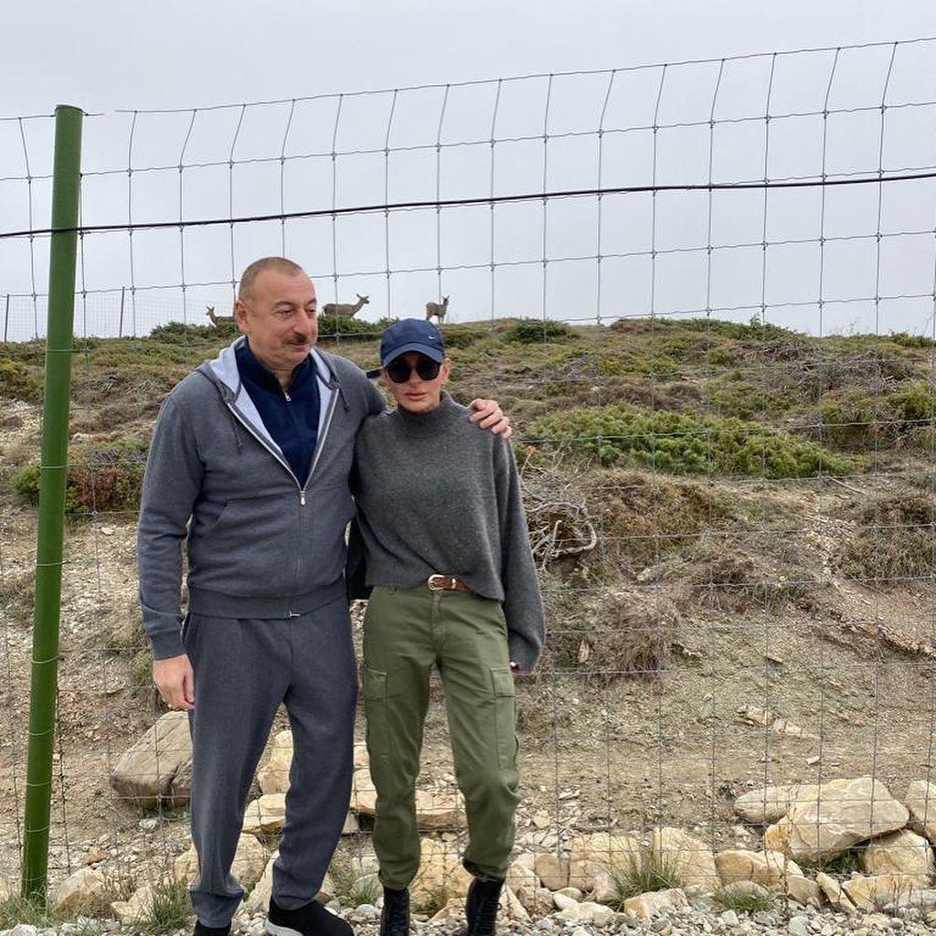 Первый вице-президент Мехрибан Алиева: Прекрасный край Азербайджан!