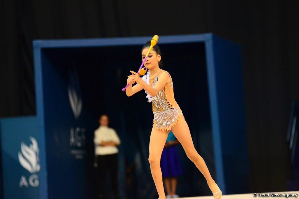Стартовал финальный день соревнований первенства Азербайджана и Баку и Кубка регионов по художественной гимнастике