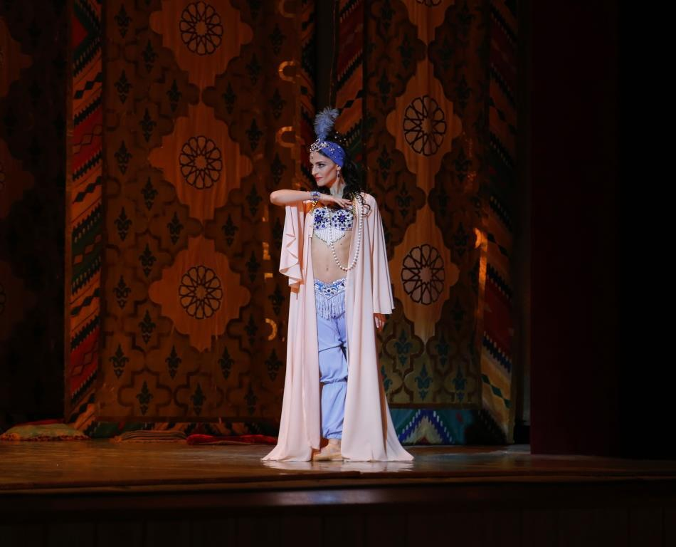 """В Театре оперы и балета с большим успехом прошел показ балета """"Шахерезада"""""""