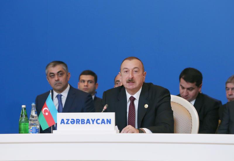 Президент Ильхам Алиев: За последние 16 лет экономика Азербайджана выросла более чем втрое