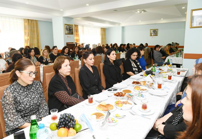 Первый вице-президент Мехрибан Алиева  приняла участие в церемонии поминовения видного ученого Васима Мамедалиева