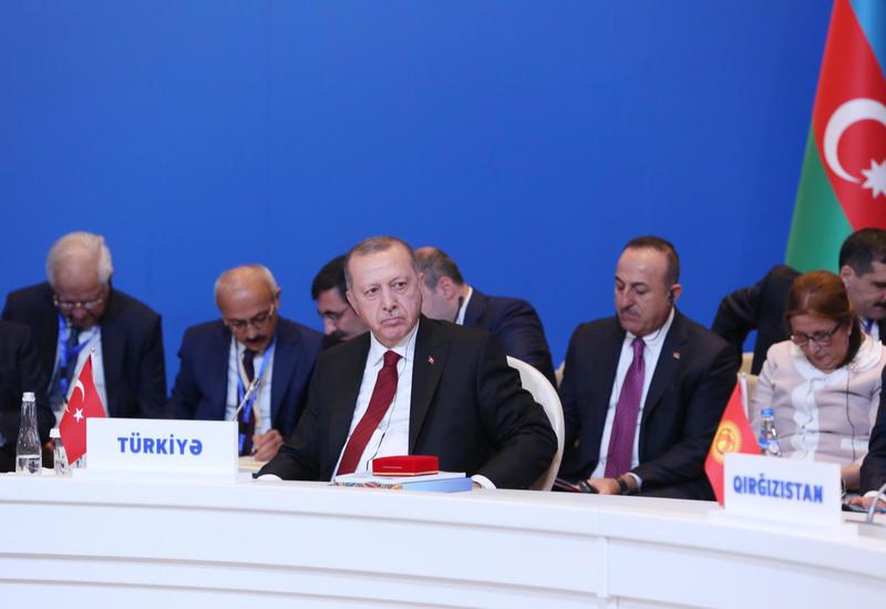 Реджеп Тайип Эрдоган: Мы будем прилагать все усилия для скорейшего урегулирования нагорно-карабахской проблемы на основе территориальной целостности Азербайджана