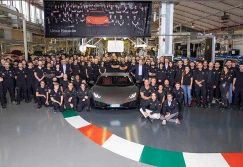 У Lamborghini появилась новая самая массовая модель