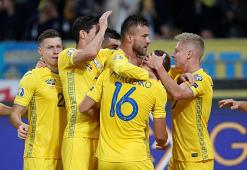 Украина обыграла Португалию и вышла на Евро-2020