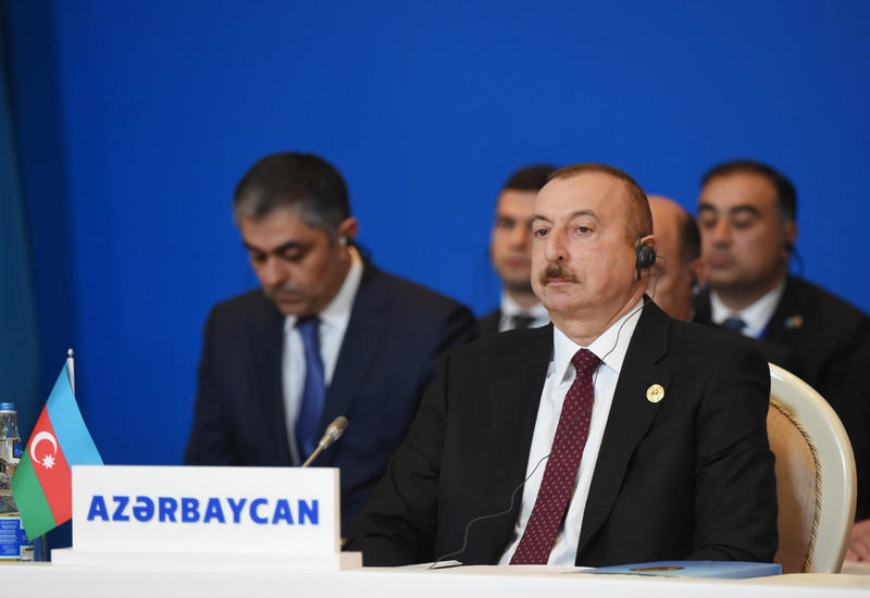 Президент Ильхам Алиев: Азербайджан является одной из стран, которая больше всех инвестирует в экономику Турции
