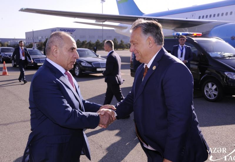Завершился визит премьер-министра Венгрии в Азербайджан